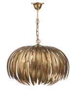 Dar ATT0535 Atticus 5 Light Gold Leaf Ceiling Pendant