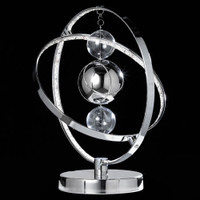 E31MUNITLCH Muni Led Chrome Table Lamp
