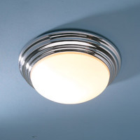 DAR BAR5050 Barclay IP44 Ceiling Light Large CHROME