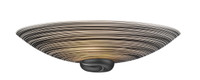 David Hunt  SWW0722 Swirl Wall light Black