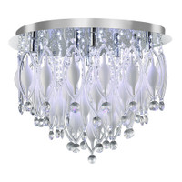 Searchlight 2459-9CC Spindle 9 Light Chrome & Crystal Ceiling Light