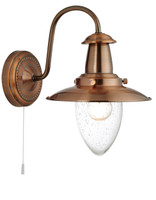 S9153311CO Fisherman Copper Wall Light
