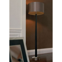 E31CHASWOOD Wood Effect Floor Lamp