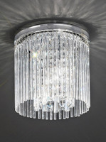 Franklite CF5723 Charisma 3 Light Crystal Ceiling Light