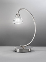 FLT41971 1 Light Table Lamp Satin Nickel