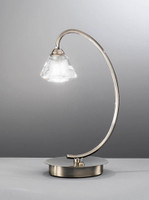Franklite TL975 Twista 1 Light Table Lamp Antique Brass