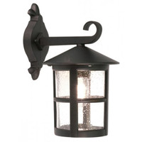Elstead BL21/G Hereford 1 Light Black Wall Lantern