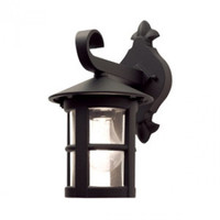 Elstead BL21 Hereford 1 Light Black Wall Lantern