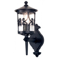Elstead BL10 Hereford 1 Light Black Wall Lantern