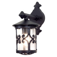 Elstead BL8 Hereford 1 Light Black Wall Lantern