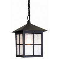 Elstead BL18B Winchester 1 Light Black Ceiling Lantern