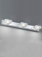 52049 3 Light Led Bathroom Wall Light
