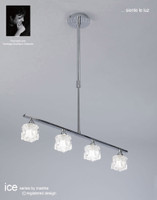 MM151847 4 Light Ceiling Pendant Polished Chrome