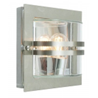 Elstead Bern 650 Galvanized Wall Light