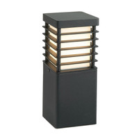 EL1521367 Small Bollard Black steel 60W