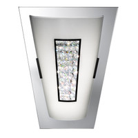Searchlight 3773 Led Wall Light Chrome & Crystal