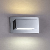 Searchlight 1752CC Led Wall Light Chrome