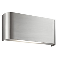 Searchlight 1953SS LED Wall Light Satin Silver