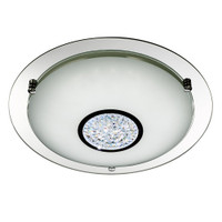 S91388331 LED Flush Ceiling Light Polished Chrome