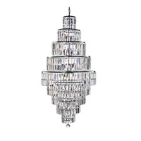 S911500CC 13 Light Crystal Tiered Pendant