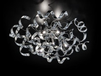 Metallux 206.380.15 Astro 6 Light Flush Ceiling Light Polished Chrome