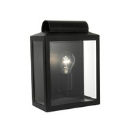 Dar NOT2122 Notary 1 Light Wall Light Black