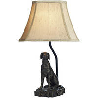 Dar ROV4263/X Rover Table Lamp Metallic Bronze