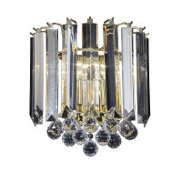 E31FARGOWBBP 2 Light Acrylic Wall Light Polished Brass