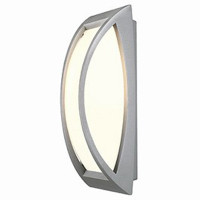 Meridian 2 Outdoor Wall / Ceiling Light Silver Grey