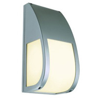 Keras ELT Outdoor Wall Light Silver Grey