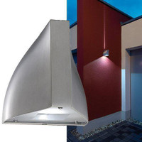 Tenda LED Outdoor LED Wall Light Stainless Steel