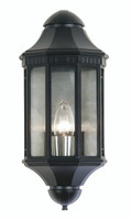 Oaks WESTMINSTER-BLK Black Outdoor Wall Light