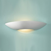 DAR SLI072 Slice Plaster Wall Light