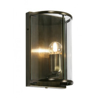 Oaks 351/WB AB Fern Antique Brass Wall Light