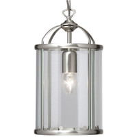 Oaks 351/1 AC Fern Satin Chrome Ceiling Lantern