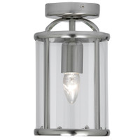 O55351FL AC Satin Chrome Ceiling Lantern
