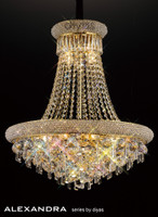 1532111 13 Light French Gold Ceiling Pendant
