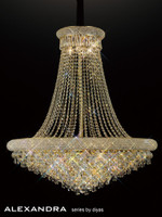 1532112 18 Light French Gold Ceiling Pendant