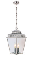 Elstead MANSIONHS8 PN Mansion House Lantern Polished Nickel