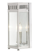 Elstead HL7/S PC HOLBORN Wall lantern Polished Chrome