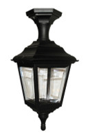 Elstead KERRY PED/PORCH UP/DOWN Polymar Black Outdoor Light