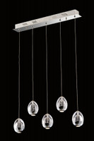 I81130030235B CHR Bubble 5 Light LED Ceiling Pendant