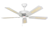 Fantasia CLASSIC 110033 White with Matt White Blades 52""