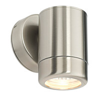 E3114016 Atlantis Down Marine Grade Stainless Wall Light