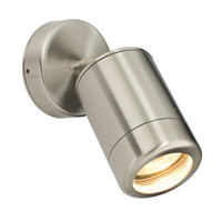 Endon 14017 Atlantis Adjustable Marine Grade Stainless Wall Light