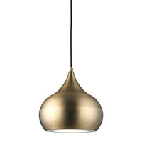 E3161299 LED Ceiling Pendant Matt Antique Brass