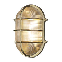 David Hunt ADM2140 Admiral Large Oval Solid Brass