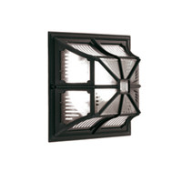 Elstead CP12 Chapel Flush Ceiling/Wall Light Black