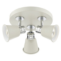 DYRF107633 3 Plate spotlight Cream
