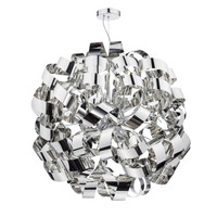 DWAR101255 MEDUSA 12 Light Ribbon Ball Pendant Polished Chrome